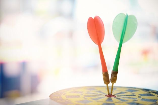 Objectifs de réussite de la planification de la stratégie commerciale. Photo Premium