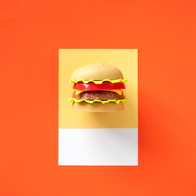 Objet de restauration rapide hamburger Photo gratuit