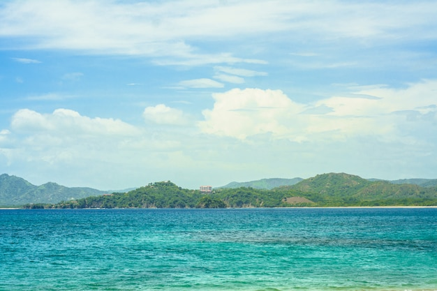 Océan Et Montagnes Au Costa Rica Photo Premium