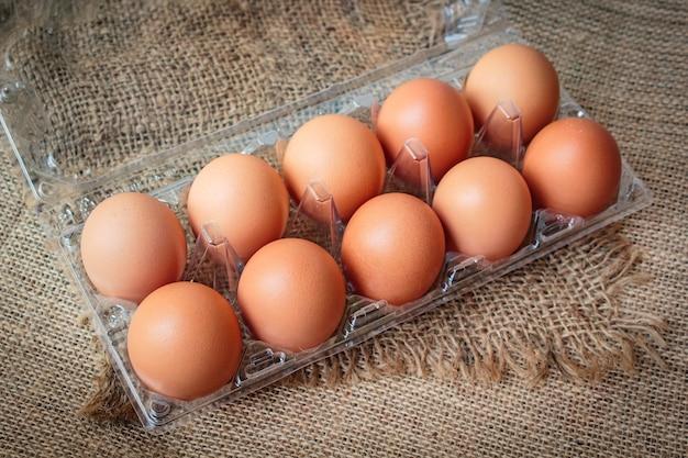 Des œufs Photo Premium
