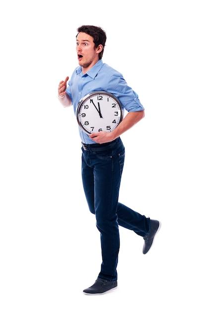 Oh Mon Dieu! Je Suis En Retard! Je N'ai Que Cinq Minutes! Photo gratuit