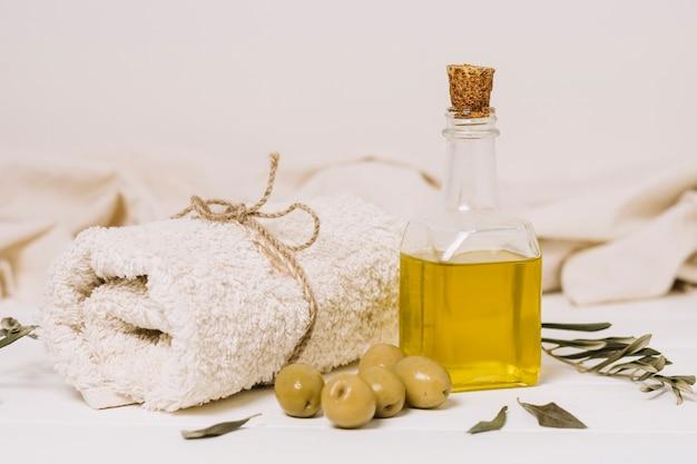 Olives à L'huile D'olive Photo gratuit