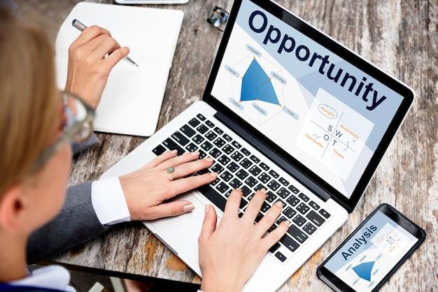 Opportunité D'affaires En Ligne Photo gratuit