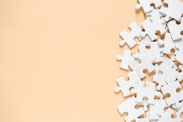 Orange Floor From Puzzle Blanc Photo gratuit