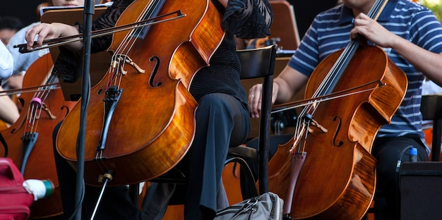 Orchestre dans la rue Photo Premium