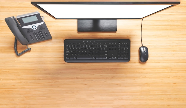 Ordinateur de bureau Photo Premium