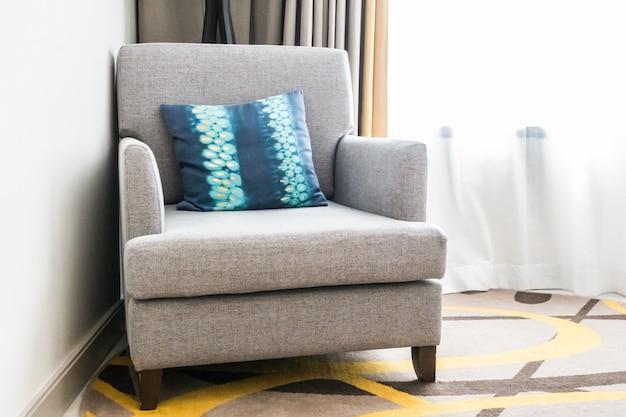 Oreiller sur le canapé Photo gratuit