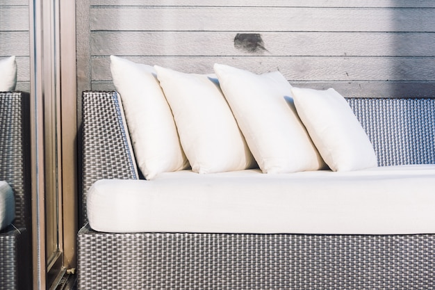 Oreiller canapé Photo gratuit