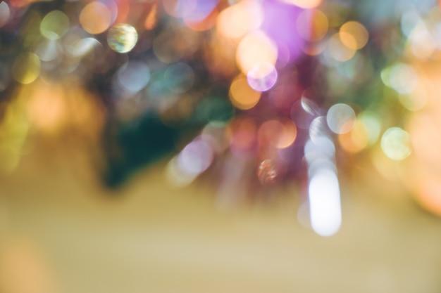 Ornement abstrait et ampoule décor de noël à joyeux noël et bonne année nig Photo Premium