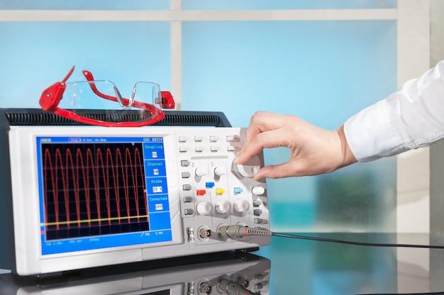 Oscilloscope moderne Photo Premium