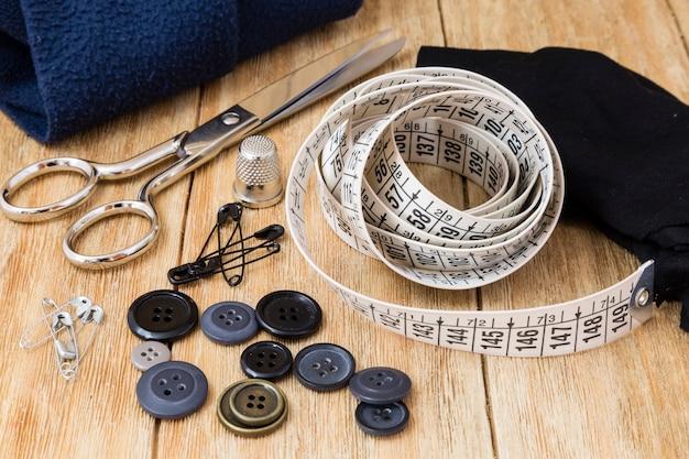 Outils de couture et kit de couture Photo Premium