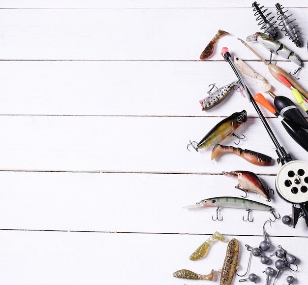 Outils De Pêche Photo gratuit