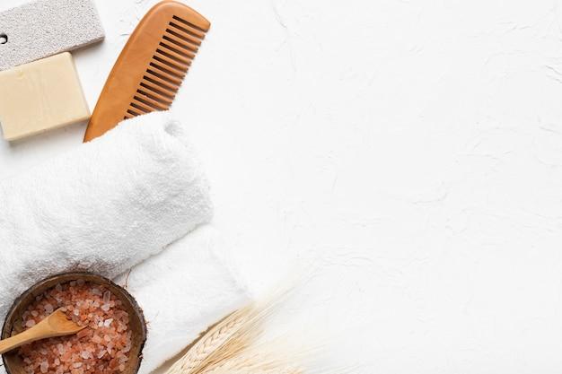 Pack concept soins de la peau et spa spa Photo gratuit
