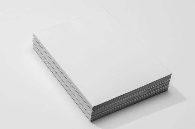 Pages De Livres Espace Copie Vue Haute Photo gratuit