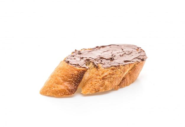 Pain au chocolat à la noisette Photo Premium