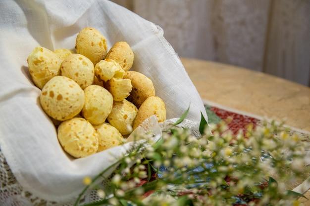 Pain au fromage brésil Photo Premium