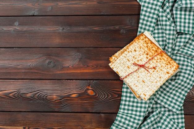 Pain azyme traditionnel de la pâque Photo Premium
