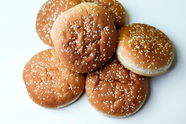 Les pains burger Photo Premium