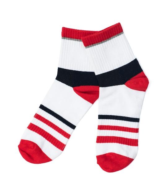 Une paire de chaussettes Photo Premium