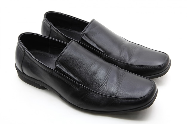 Paire de chaussures en cuir Photo Premium
