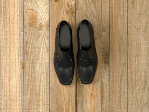 Une paire de chaussures homme Photo Premium