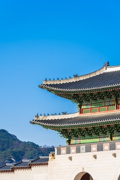 Palais gyeongbokgung Photo gratuit