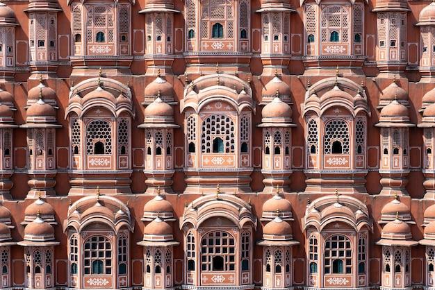 Le Palais Hawa Mahal à Jaipur Photo Premium