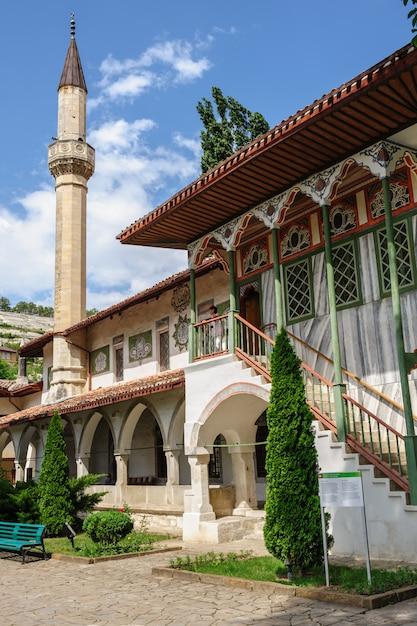 Palais de khan à bakhchisarai, crimée, ukraine Photo Premium
