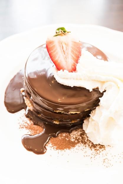 Pancake au chocolat Photo gratuit