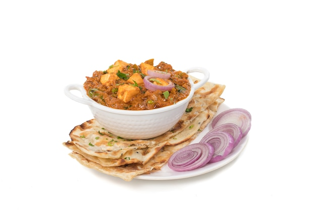 Paneer curry Photo Premium