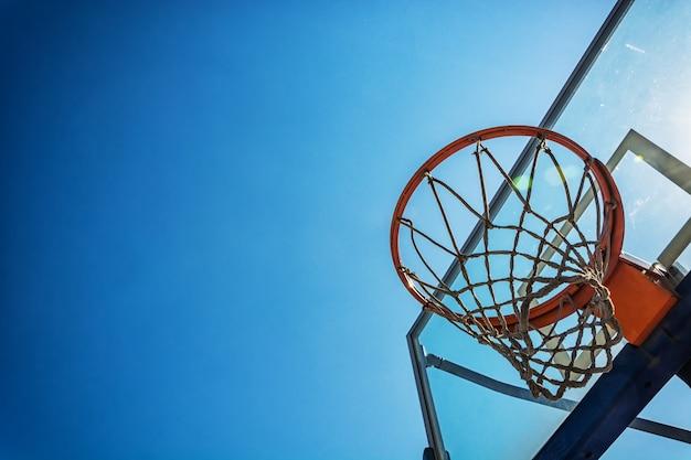 Panier de basket Photo gratuit