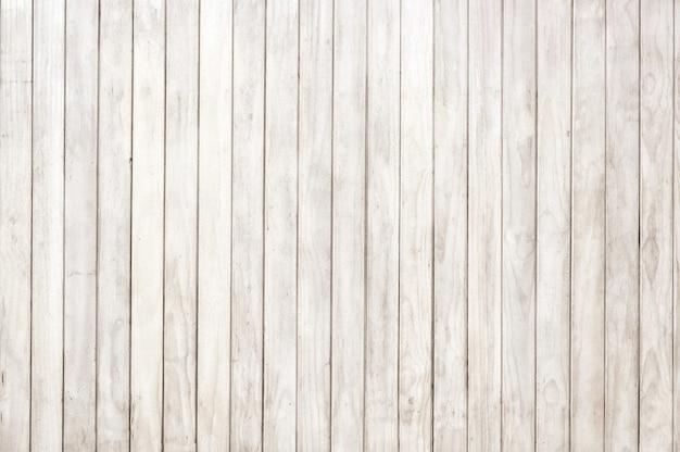 Panneau en bois blanc, fond de texture de planche de bois, plancher de bois franc. Photo Premium