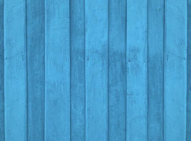 Panneaux De Bois Bleu Naturel Texture Fond De Mur De Clôture. Photo Premium