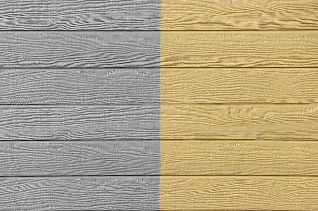 Panneaux De Bois Jaune Gris Design Fond De Texture De Mur. Photo Premium