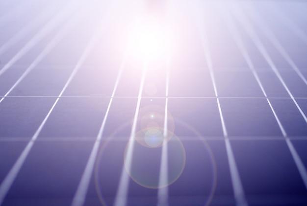 Panneaux d'énergie solaire eco power industriel pour les énergies renouvelables Photo Premium
