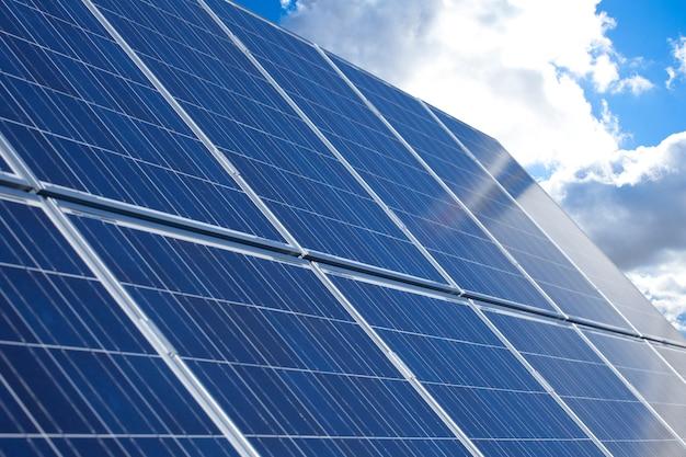 Panneaux photovoltaïques Photo Premium