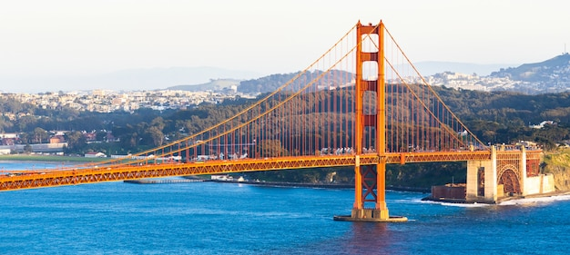 Panorama Du Golden Gate Photo Premium