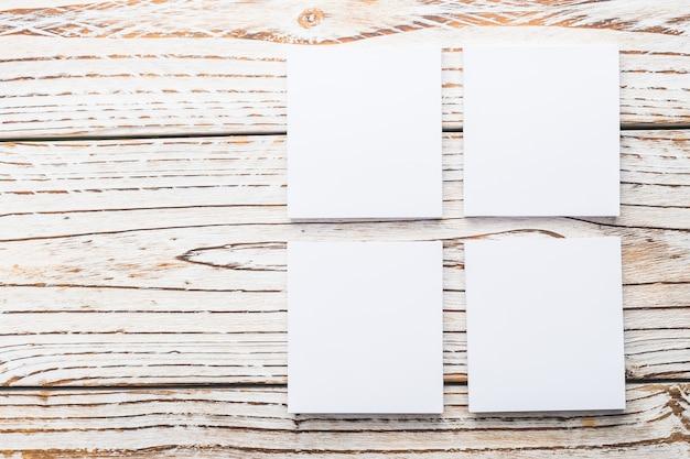 Papier blanc vierge Photo gratuit
