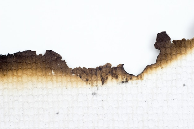 Papier Brûlé Vieux Texture Abstrait Grunge Photo Premium