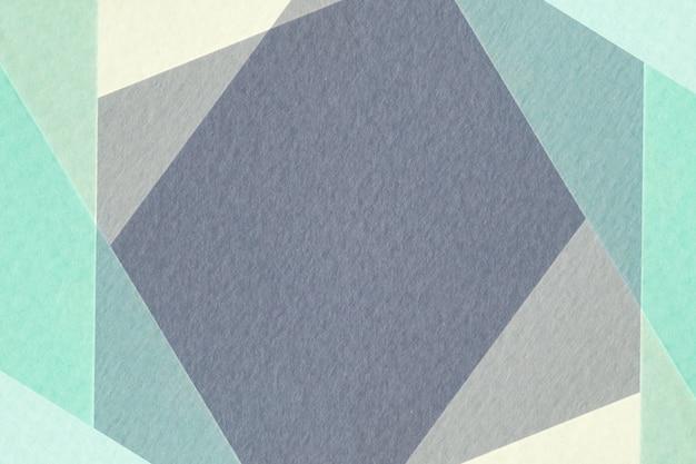 Papier géométrique abstrait Photo Premium