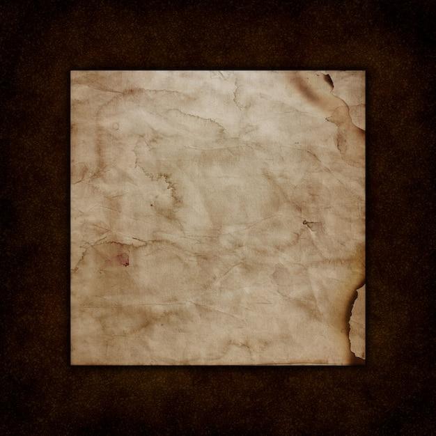 Papier grunge sur une texture de cuir ancienne Photo gratuit