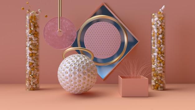 Papier peint décoratif Photo Premium