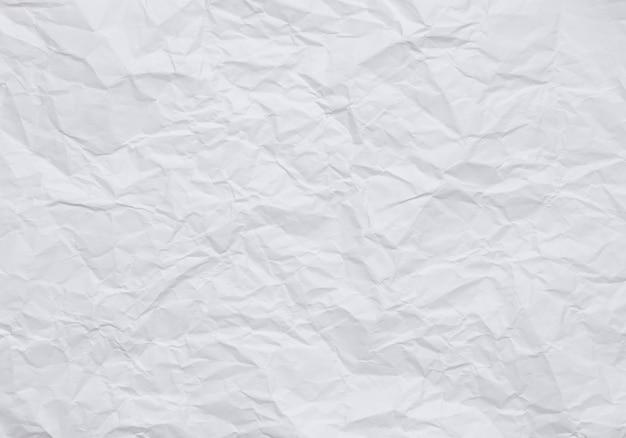 Papier peint de style vintage, fond de papier blanc froissé avec des textures Photo Premium