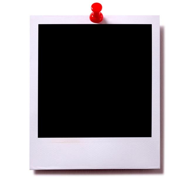 Papier photographie avec un tack Photo gratuit