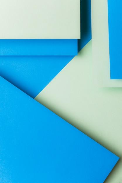 Papier plat bicolore géométrique poser fond Photo gratuit