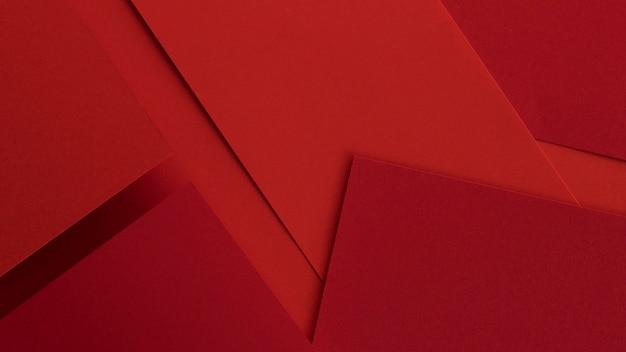 Papiers Et Enveloppes Rouges élégants Photo gratuit