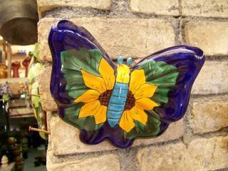 Papillon d'artisanat mexicain, de couleur Photo gratuit