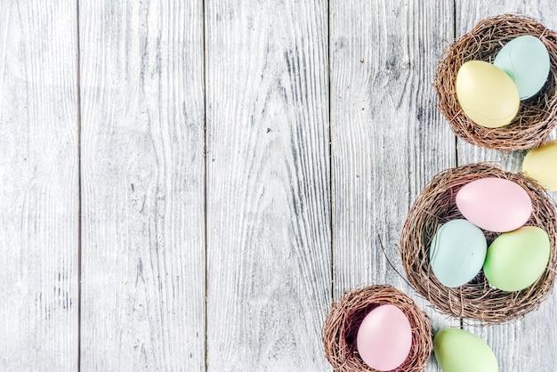 Pâques Pastel Photo Premium