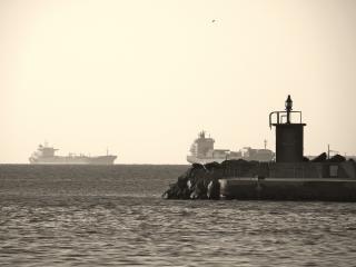 Par les anciens docks Photo gratuit