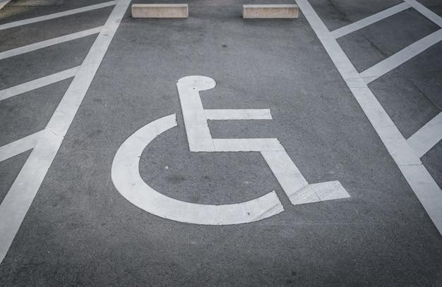 Parking Handicap Photo gratuit